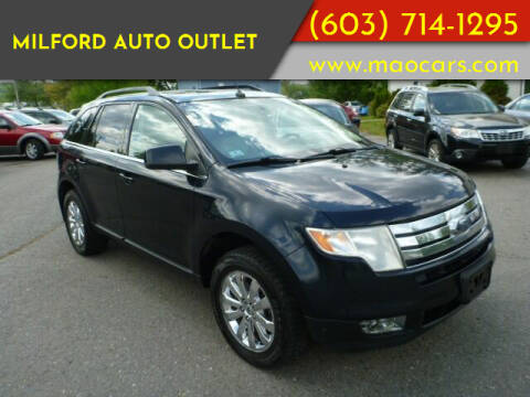 2008 Ford Edge for sale at Milford Auto Outlet in Milford NH