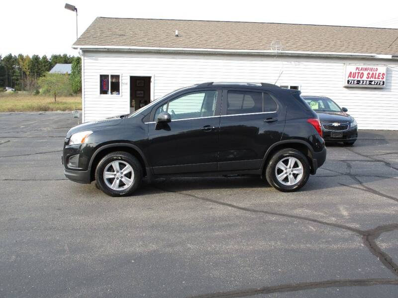 2015 Chevrolet Trax for sale at Plainfield Auto Sales, LLC in Plainfield WI
