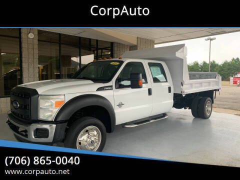 2011 Ford F-550 Super Duty for sale at CorpAuto in Cleveland GA