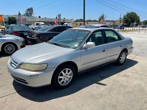 2002 Honda Accord for sale at P J Auto Trading Inc in Orlando FL