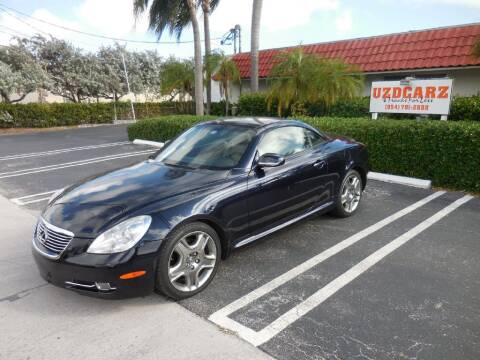 2008 Lexus SC 430 for sale at Uzdcarz Inc. in Pompano Beach FL