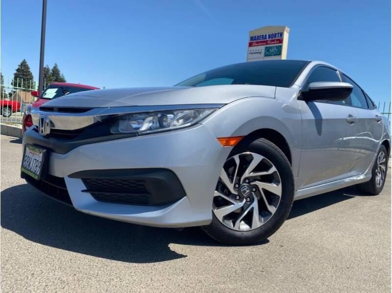 2017 Honda Civic for sale at MADERA CAR CONNECTION in Madera CA