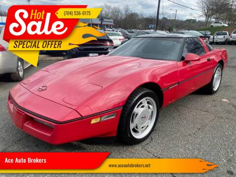 1989 Chevrolet Corvette for sale at Ace Auto Brokers in Charlotte NC