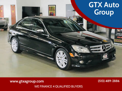 2009 Mercedes-Benz C-Class for sale at GTX Auto Group in West Chester OH