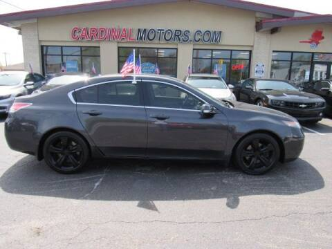 2012 Acura TL for sale at Cardinal Motors in Fairfield OH
