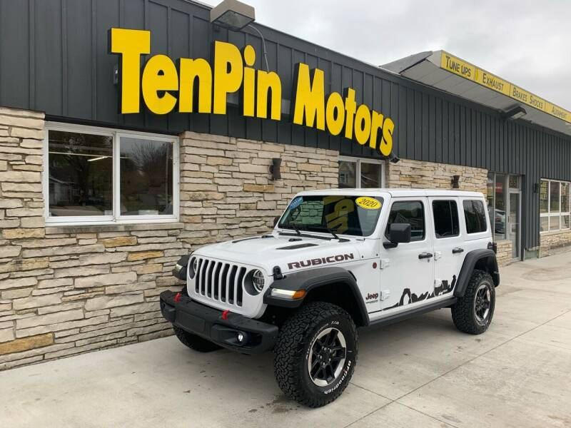 2020 Jeep Wrangler Unlimited for sale at TenPin Motors LLC in Fort Atkinson WI