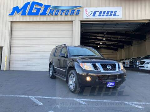 2011 Nissan Pathfinder for sale at MGI Motors in Sacramento CA