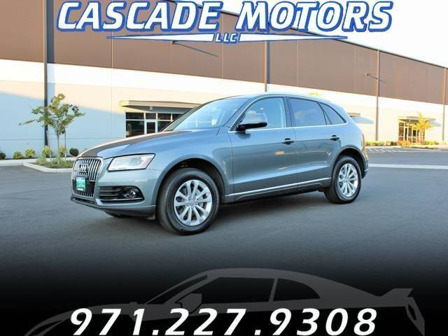 2016 Audi Q5 for sale at Cascade Motors in Portland OR