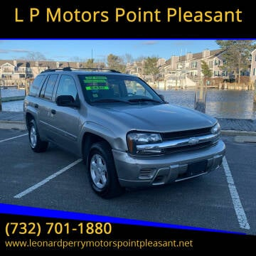 2002 Chevrolet TrailBlazer for sale at L P Motors Point Pleasant in Point Pleasant NJ