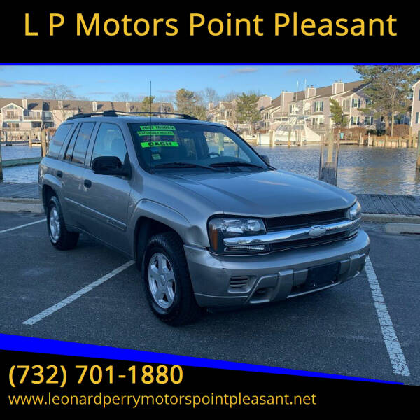 2002 Chevrolet TrailBlazer for sale at L P Motors Point Pleasant in Point Pleasant NJ