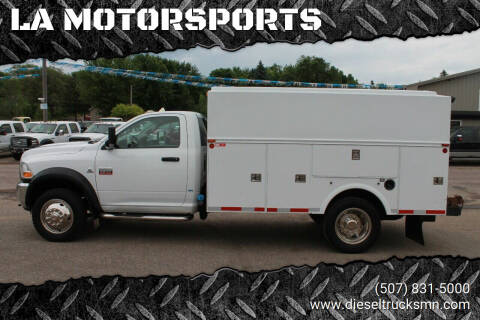 2011 RAM Ram Chassis 5500 for sale at LA MOTORSPORTS in Windom MN