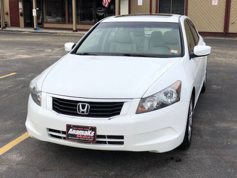 2010 Honda Accord for sale at Anamaks Motors LLC in Hudson NH