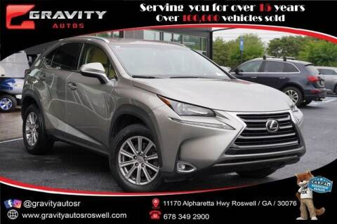 2015 Lexus NX 200t for sale at Gravity Autos Roswell in Roswell GA