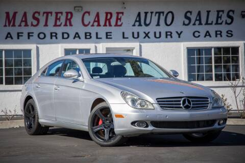 2006 Mercedes-Benz CLS for sale at Mastercare Auto Sales in San Marcos CA