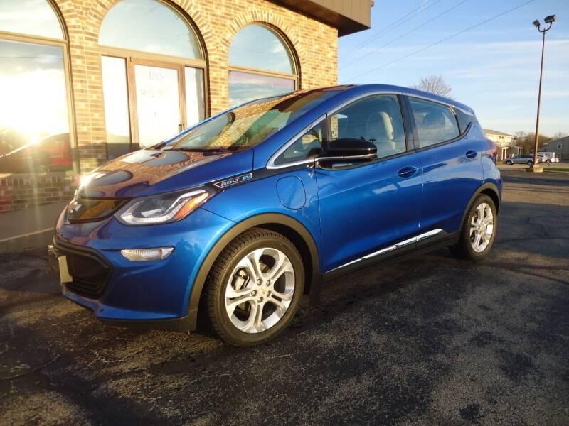 2017 Chevrolet Bolt EV for sale at VON GLAHN AUTO SALES in Platteville WI