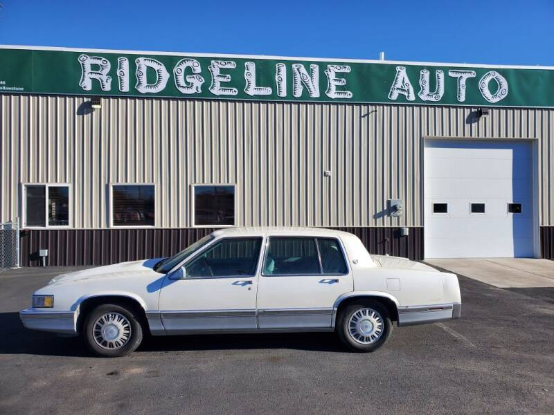 1991 Cadillac DeVille for sale at RIDGELINE AUTO in Chubbuck ID