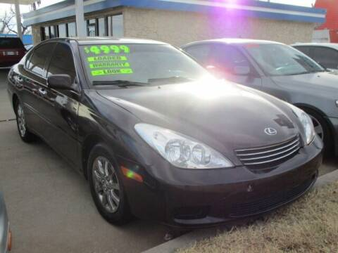 2002 Lexus ES 300 for sale at CAR SOURCE OKC - CAR ONE in Oklahoma City OK
