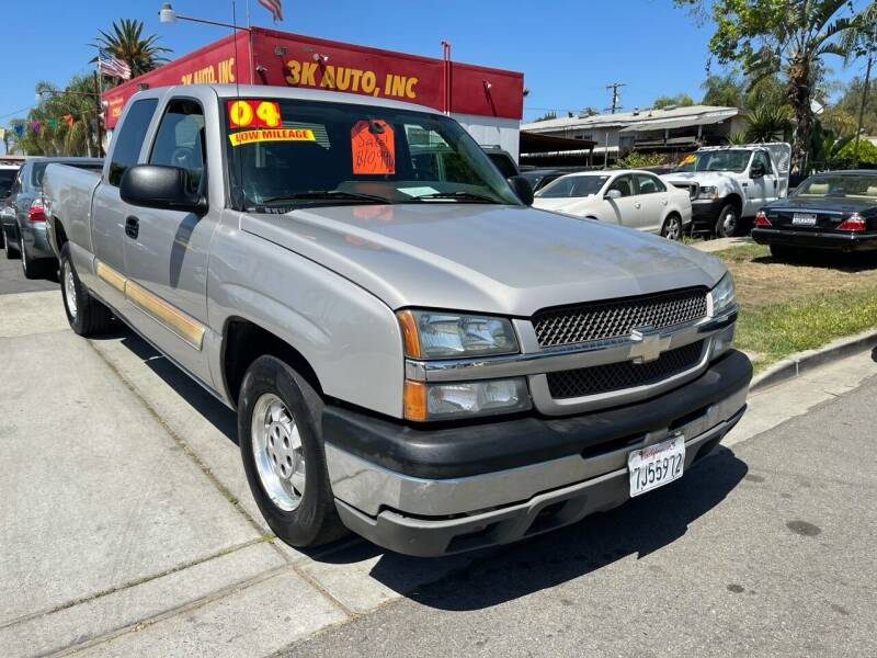 2004 Chevrolet Silverado 1500 for sale at 3K Auto in Escondido CA