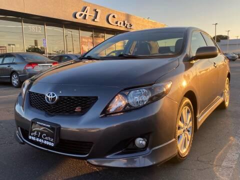 2010 Toyota Corolla for sale at A1 Carz, Inc in Sacramento CA