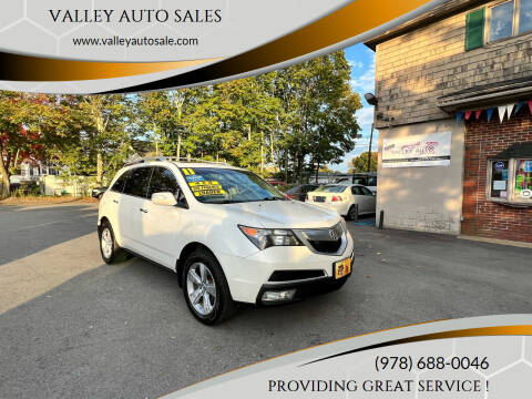 2011 Acura MDX for sale at VALLEY AUTO SALES in Methuen MA