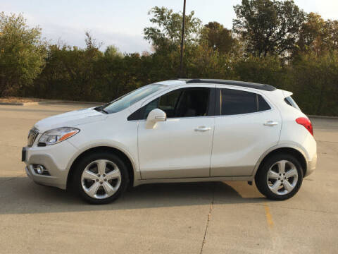 2015 Buick Encore for sale at LANDMARK OF TAYLORVILLE in Taylorville IL