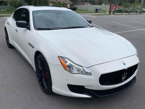 2014 Maserati Quattroporte for sale at Consumer Auto Credit in Tampa FL