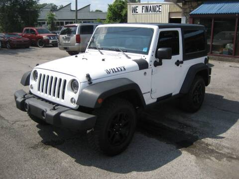 2016 Jeep Wrangler for sale at Import Auto Connection in Nashville TN