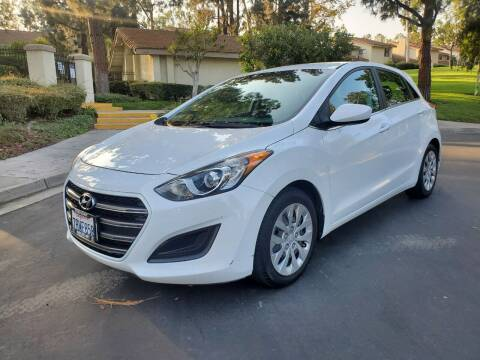 2016 Hyundai Elantra GT for sale at E MOTORCARS in Fullerton CA
