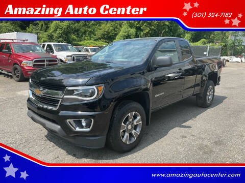 2019 Chevrolet Colorado for sale at Amazing Auto Center in Capitol Heights MD