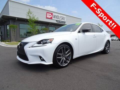 2015 Lexus IS 350 for sale at Wholesale Direct in Wilmington NC