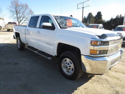 2016 Chevrolet Silverado 2500HD for sale at GREENFIELD AUTO SALES in Greenfield IA