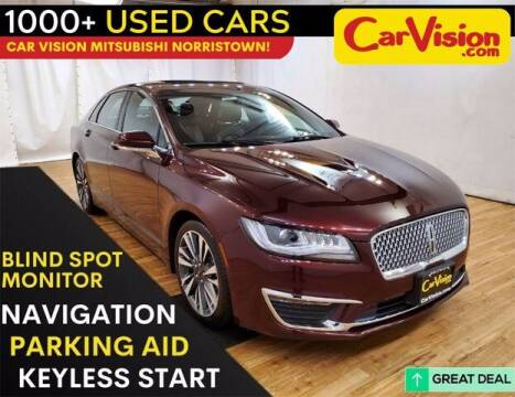 2018 Lincoln MKZ Hybrid for sale at Car Vision Buying Center in Norristown PA