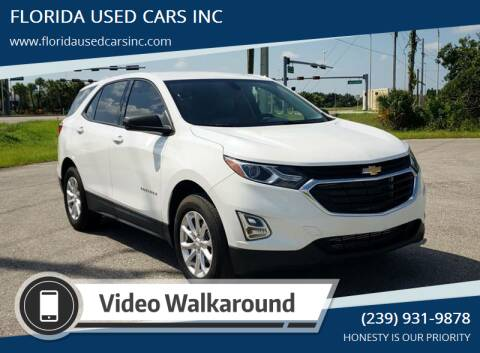 2018 Chevrolet Equinox for sale at FLORIDA USED CARS INC in Fort Myers FL