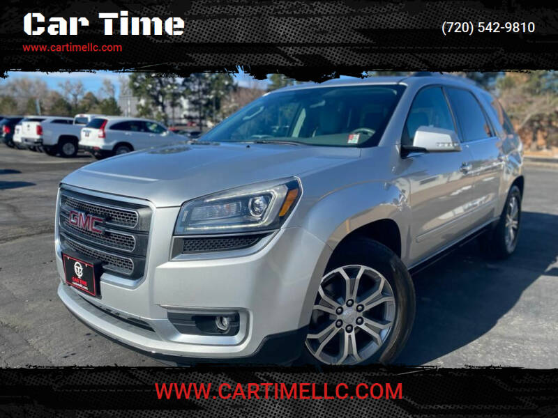 2015 GMC Acadia for sale at Car Time in Denver CO