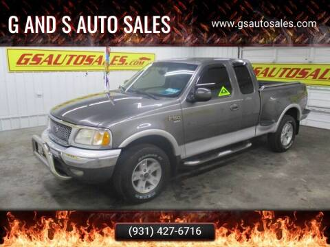 2002 Ford F-150 for sale at G and S Auto Sales in Ardmore TN
