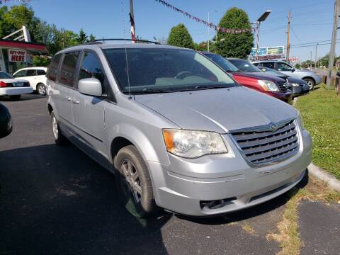 2010 Chrysler Town and Country for sale at Right Place Auto Sales in Indianapolis IN