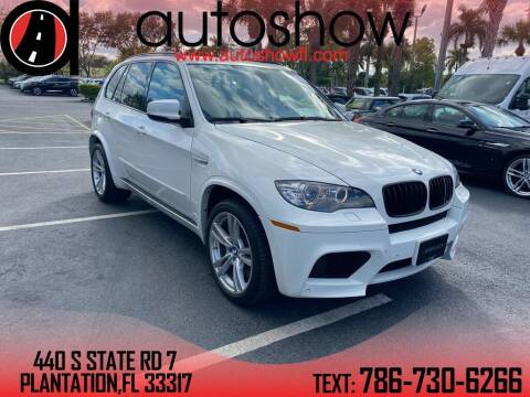 2011 BMW X5 M for sale at AUTOSHOW SALES & SERVICE in Plantation FL