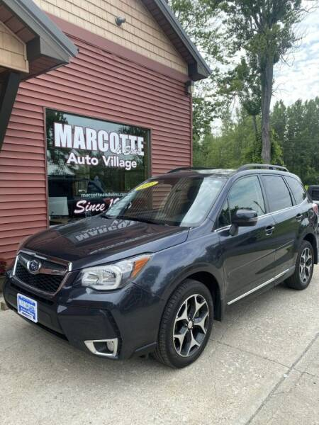 2015 Subaru Forester for sale at Marcotte & Sons Auto Village in North Ferrisburgh VT