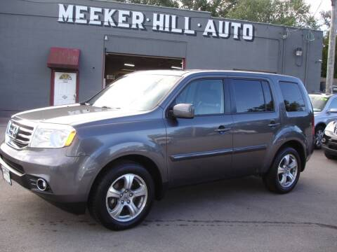 2014 Honda Pilot for sale at Meeker Hill Auto Sales in Germantown WI