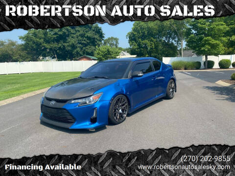 2015 Scion tC for sale at ROBERTSON AUTO SALES in Bowling Green KY