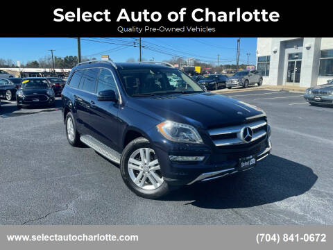 2013 Mercedes-Benz GL-Class for sale at Select Auto of Charlotte in Matthews NC