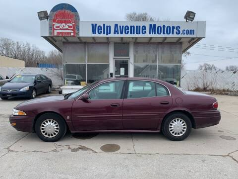 2003 Buick LeSabre for sale at Velp Avenue Motors LLC in Green Bay WI