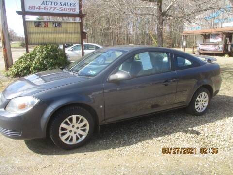 2009 Chevrolet Cobalt for sale at Randy's Auto Sales in Franklin PA