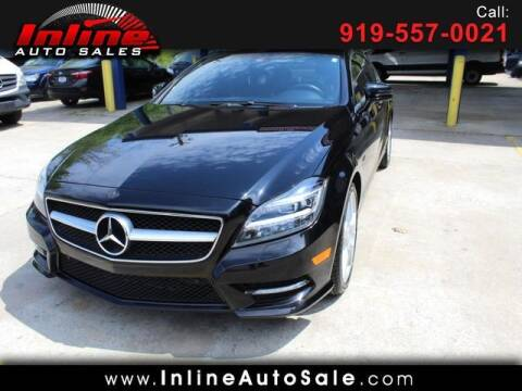 2012 Mercedes-Benz CLS for sale at Inline Auto Sales in Fuquay Varina NC