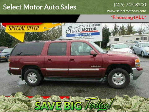 2002 GMC Yukon XL for sale at Select Motor Auto Sales in Lynnwood WA