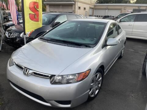 2007 Honda Civic for sale at Car VIP Auto Sales in Danbury CT