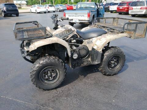 Yamaha Grizzly for sale at Big Boys Auto Sales in Russellville KY