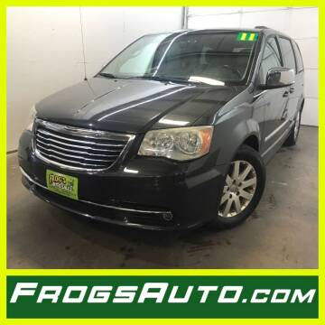 2011 Chrysler Town and Country for sale at Frogs Auto Sales in Clinton IA