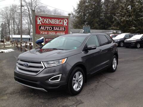2018 Ford Edge for sale at Rosenberger Auto Sales LLC in Markleysburg PA