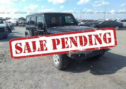 2019 Jeep Wrangler Unlimited for sale at STS Automotive - Miami, FL in Miami FL